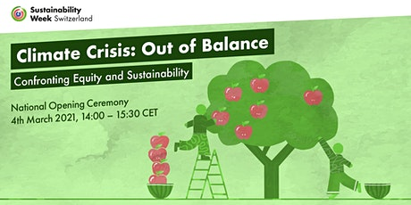 Climate Crisis - Out of Balance: Confronting Equity and Sustainability tickets