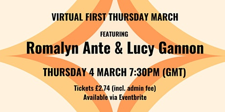 Seren Virtual First Thursday March tickets