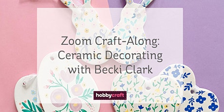 Easter Made Easy: Ceramic Decorating Craft-Along with Becki Clark tickets