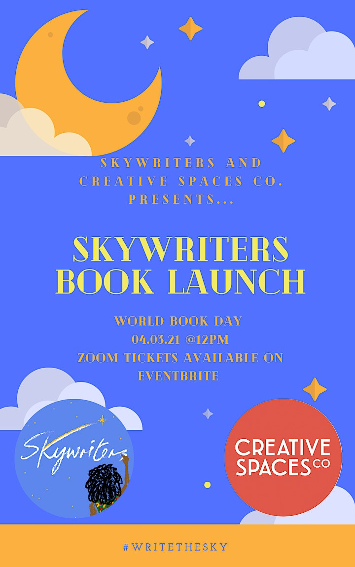 Skywriters Book Launch on World Book Day image