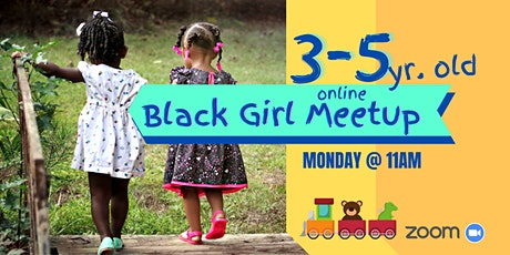 Black Girl Online Meetup: 3-5 year olds tickets