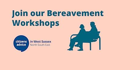 Bereavement Workshop (Evening) tickets