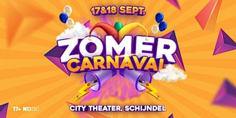 Zomercarnaval x City Theater (Zaterdag) tickets