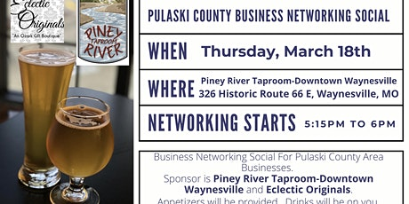 Pulaski County Business Networking  Social tickets