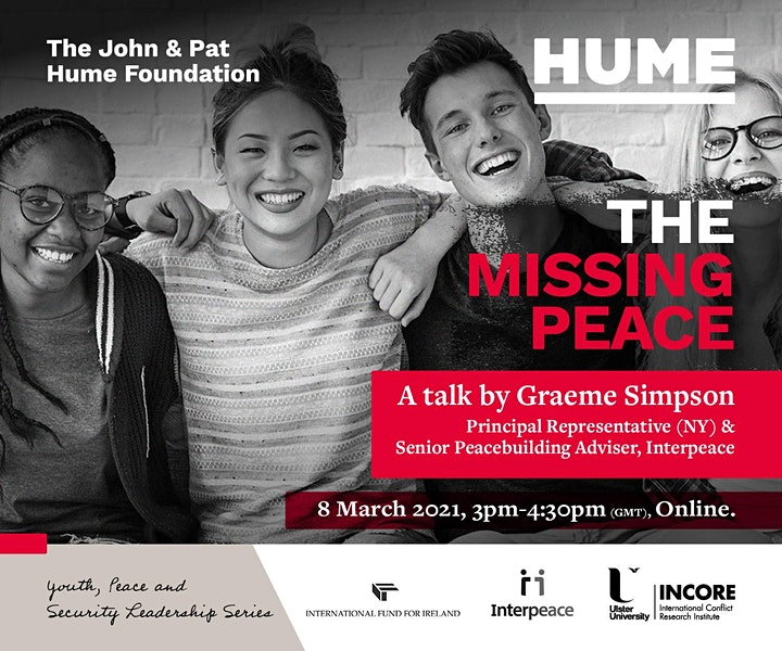 The Missing Peace: Youth, Peace and Security image