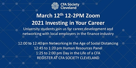 2021 Investing in Your Career for Students tickets