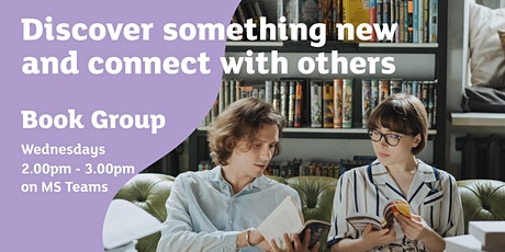 Bookshelf Adventures - Teesside University Book Group 'Virtual Meet Up' tickets