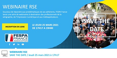 Webinaire FESPA France RSE billets