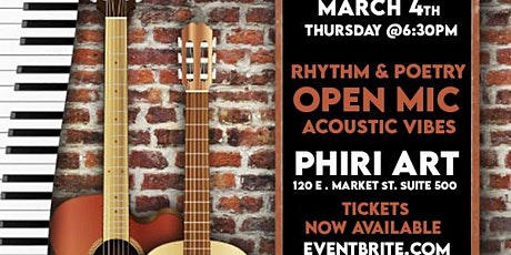 RHYTHM & POETRY PRESENTS: ACOUSTIC VIBEZ! tickets