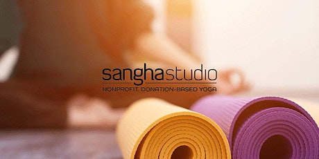 Livestream: Gentle Morning Yoga Flow with Sangha Studio tickets