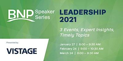 Speaker Series: Leadership