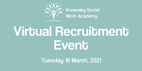 Social Work Virtual Recruitment Event tickets