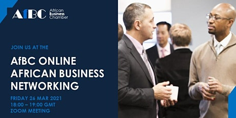 AfBC Online African Business Networking tickets