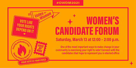 Women's Candidate Forum tickets