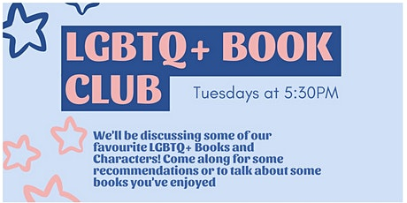 LGBTQ+ Book Club tickets