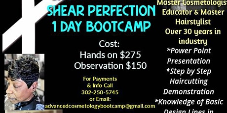 Hands-On Hair Cutting Boot Camp tickets
