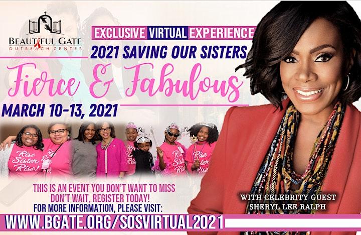 """Saving Our Sisters"" 2021 Virtual Experience image"