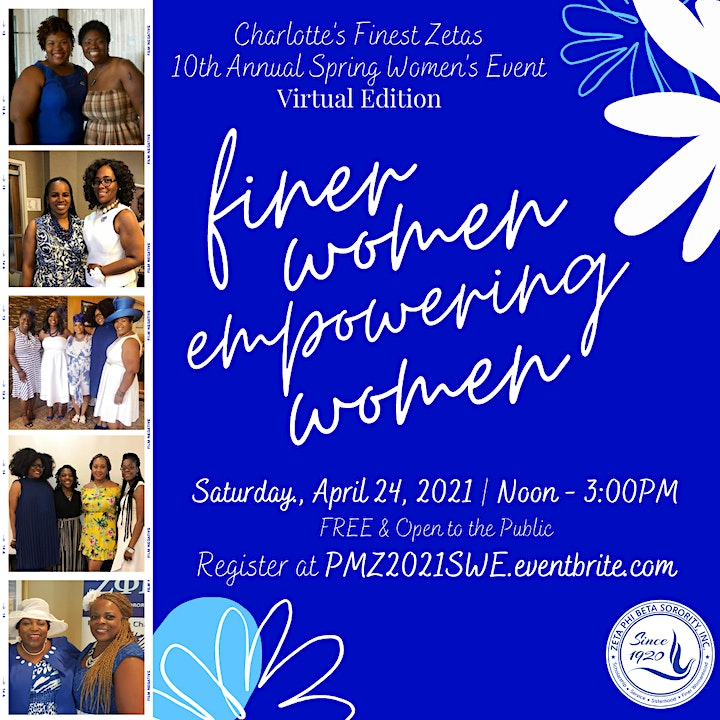 10th Annual Spring Women's Event: Virtual Edition image