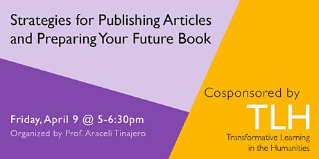 Strategies for Publishing Articles and Preparing Your Future Book tickets