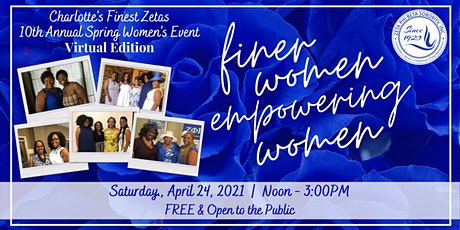10th Annual Spring Women's Event: Virtual Edition tickets