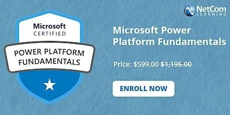 Microsoft Power Platform Fundamentals 2-Days Online Training at $599 boletos