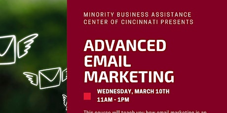 Advanced Email Marketing tickets