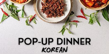 Pop-Up Dinner Series: Korean tickets