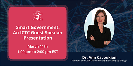 Smart Government: An ICTC Guest Speaker Presentation tickets