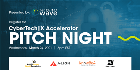 CyberTech|X Accelerator - Startup Pitch Night tickets