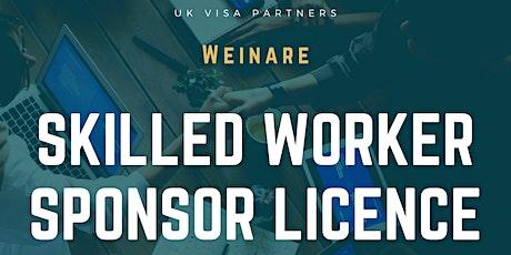 Skilled Worker Sponsor Licence tickets