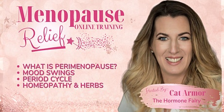 Menopause Relief Masterclass tickets