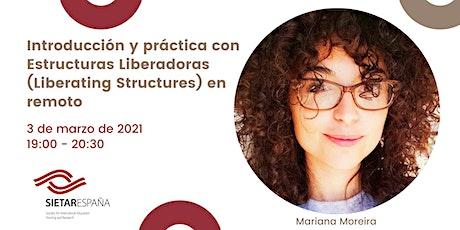 Webinar para promover la formación intercultural: Mariana Moreira entradas
