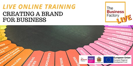 LIVE – Creating a brand for your business 1.30pm tickets