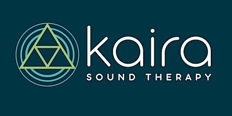 Online Live Sound Bath tickets