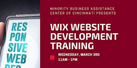 WIX Website Development Training tickets