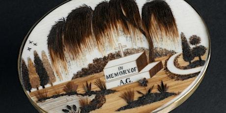 Victorian Hairwork Jewellery Masterclass with Karen Bachman tickets