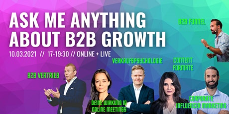Ask Me Anything about B2B Growth Tickets