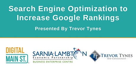 Search Engine Optimization to Increase Google Rankings tickets