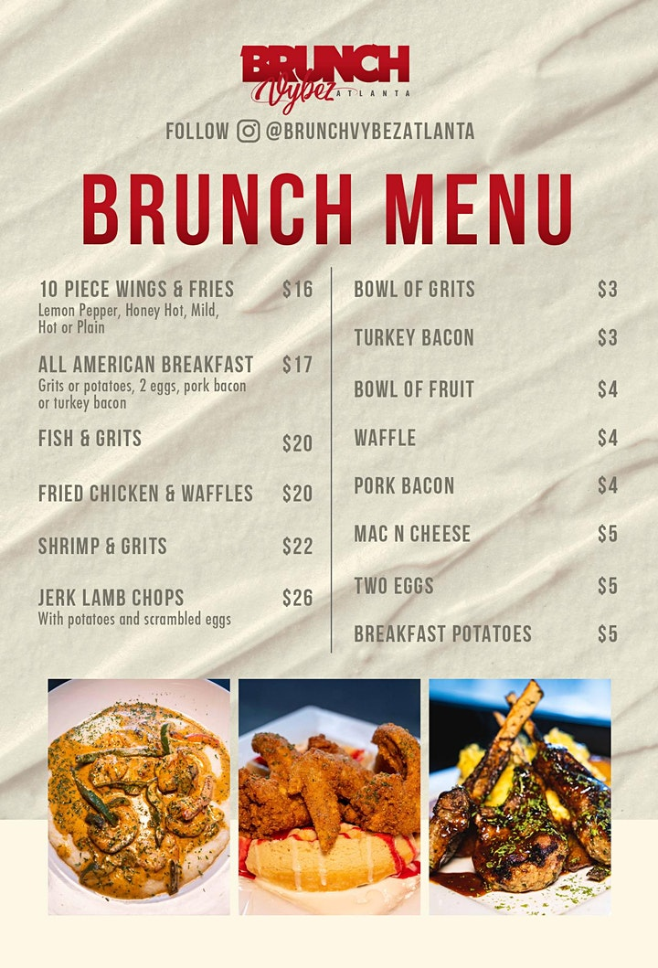Brunch Vybez Atlanta | Every Sunday at oAK Atlanta (21+) image