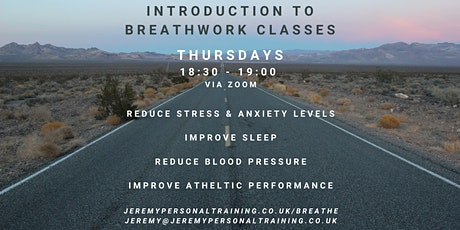 Introduction to Breathwork tickets