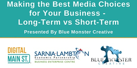 Making the Best Media Choices for Your Business - Long-Term vs Short-Term biglietti