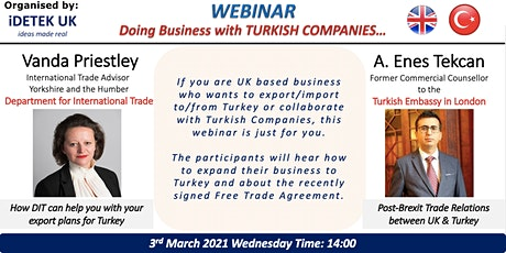 Doing Business with Turkish Companies tickets
