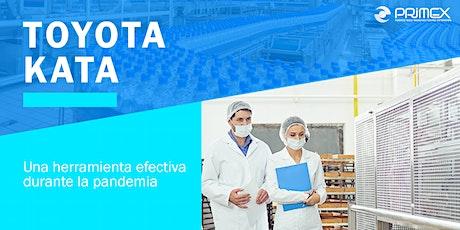 Toyota Kata: Una herramienta efectiva durante la pandemia boletos