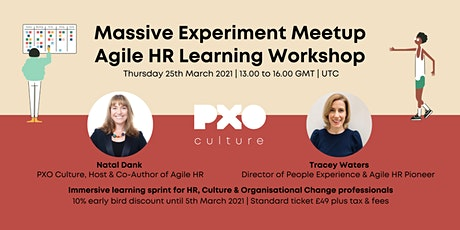 Agile HR Learning Workshop | Massive Experiment Meetup tickets