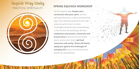 Meditation and Practical Spiritual Unity  Spring Equinox Workshop tickets