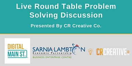 Live Round Table Problem Solving Discussion tickets