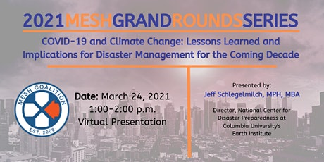 COVID-19 and Climate Change: Lessons Learned and Implications for Disaster tickets