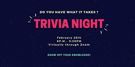 Trivia Night - February 25th tickets