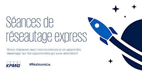 KPMG - Réseautage express (bureau de la Rive-Sud) billets