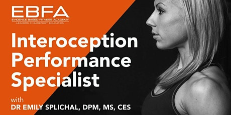 Interoception Performance Specialist Certification - Virtual via Zoom tickets